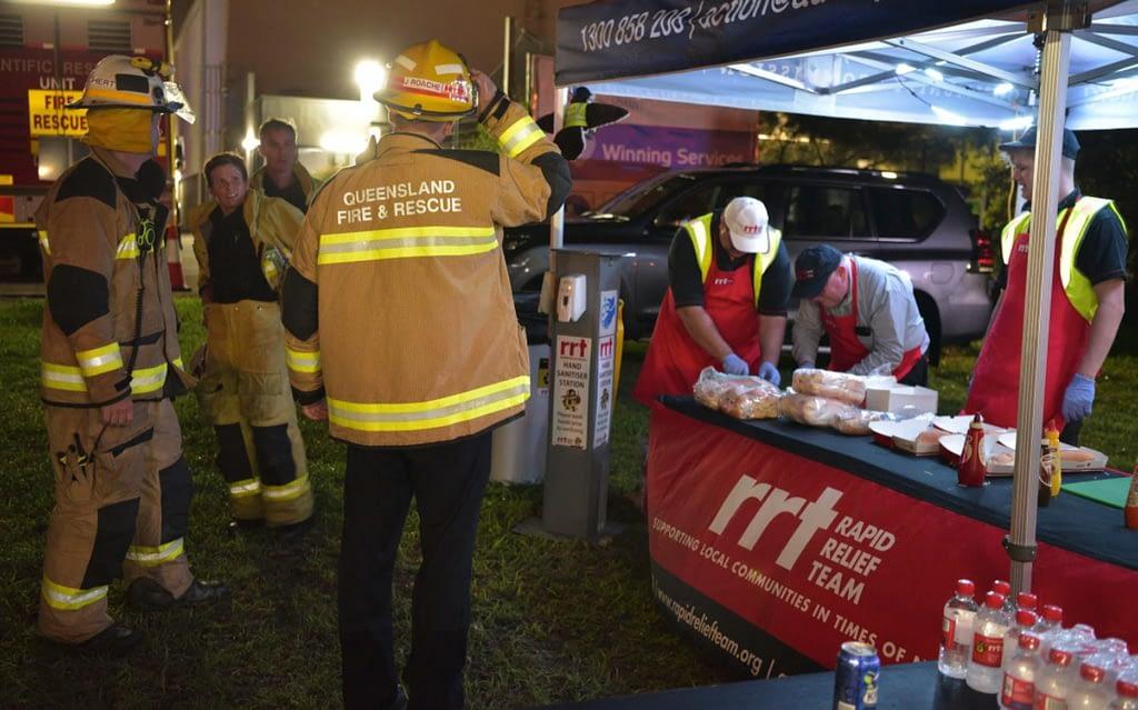 rapid relief team firefighters