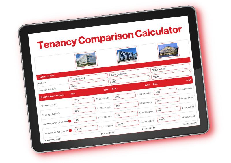 Tenancy Comparison Calculator
