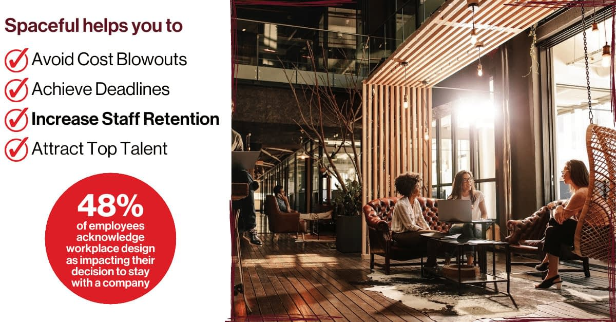 Spaceful - Increase Staff Retention on Staff Fit Outs